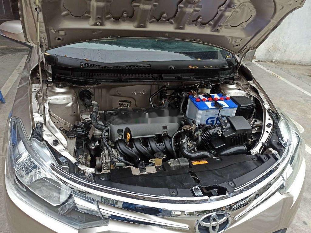 Bán Toyota Vios đời 2015, màu vàng chính chủ, giá chỉ 318 triệu (6)