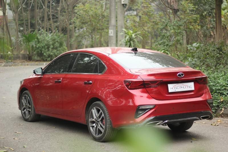 Cần bán Kia Cerato năm 2020, màu đỏ, nhập khẩu  (6)