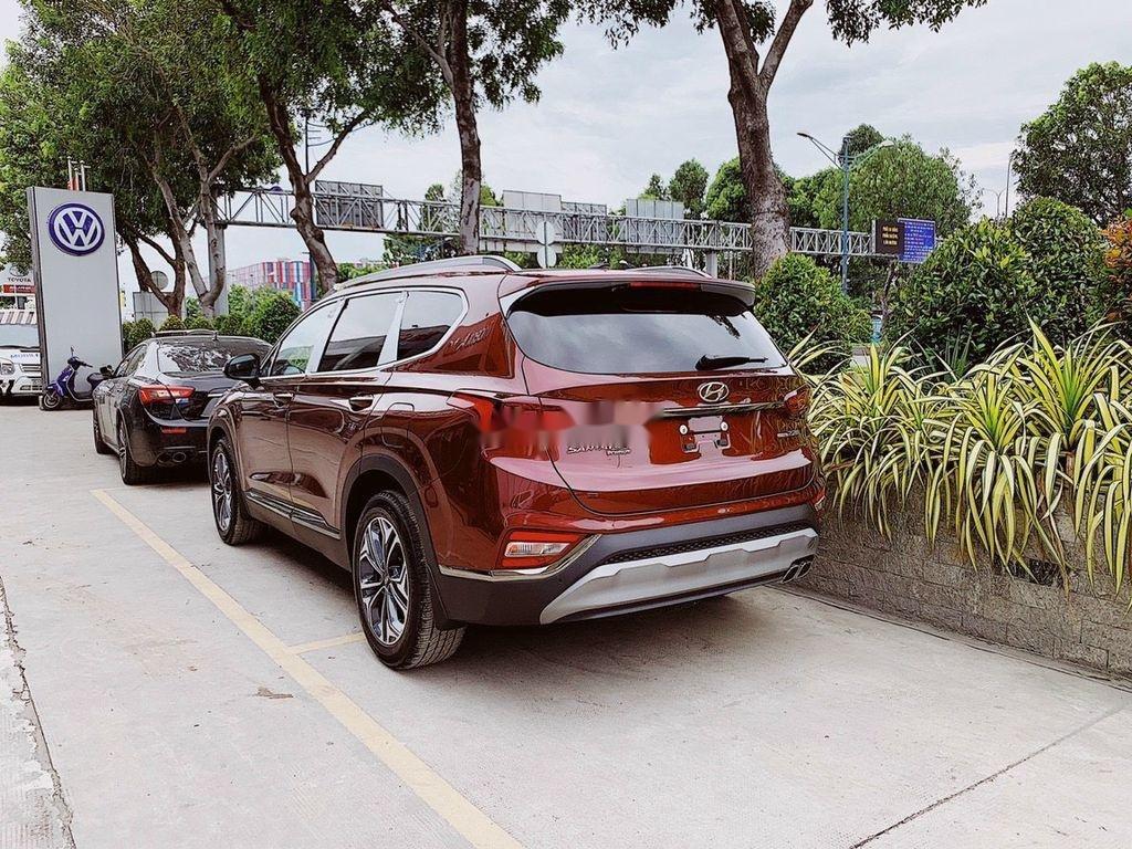 Cần bán xe Hyundai Santa Fe đời 2021, màu đỏ (2)