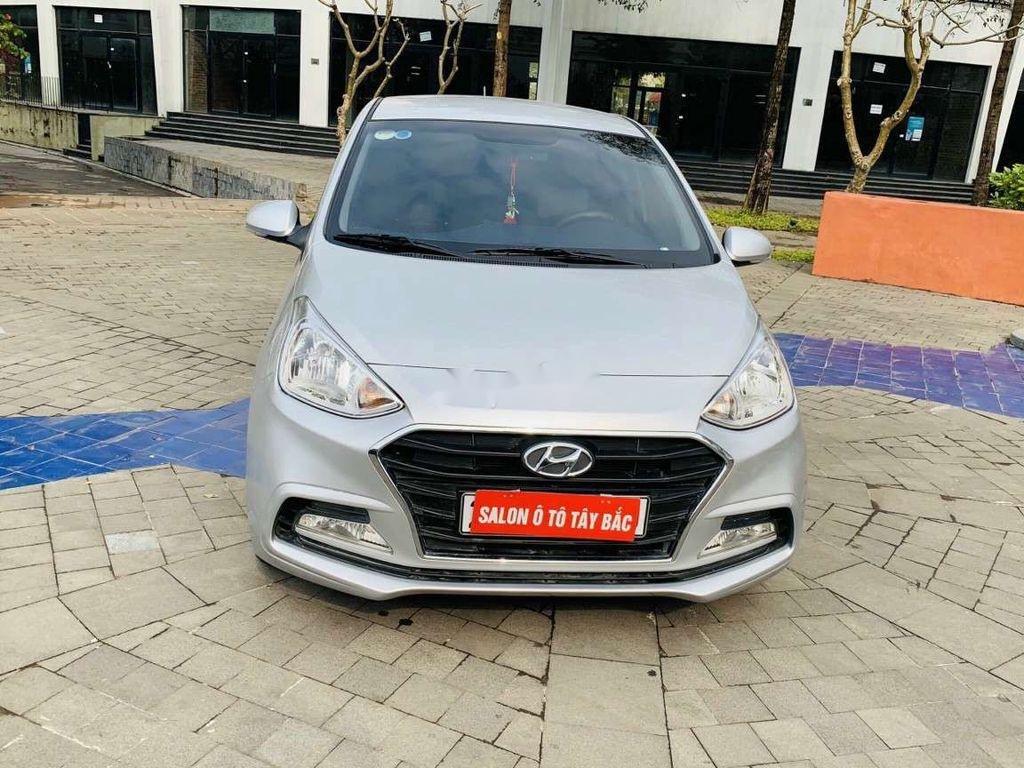 Bán Hyundai Grand i10 sản xuất năm 2020, màu bạc, giá tốt (1)