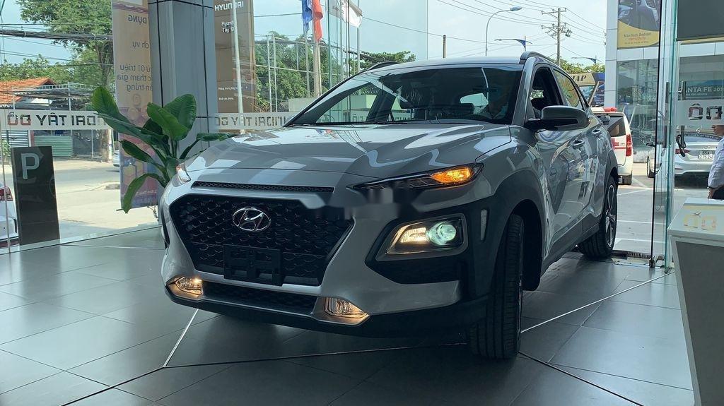 Bán ô tô Hyundai Kona đời 2021, màu bạc (3)