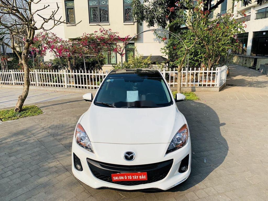 Cần bán Mazda 3 2012, màu trắng, giá cạnh tranh (6)