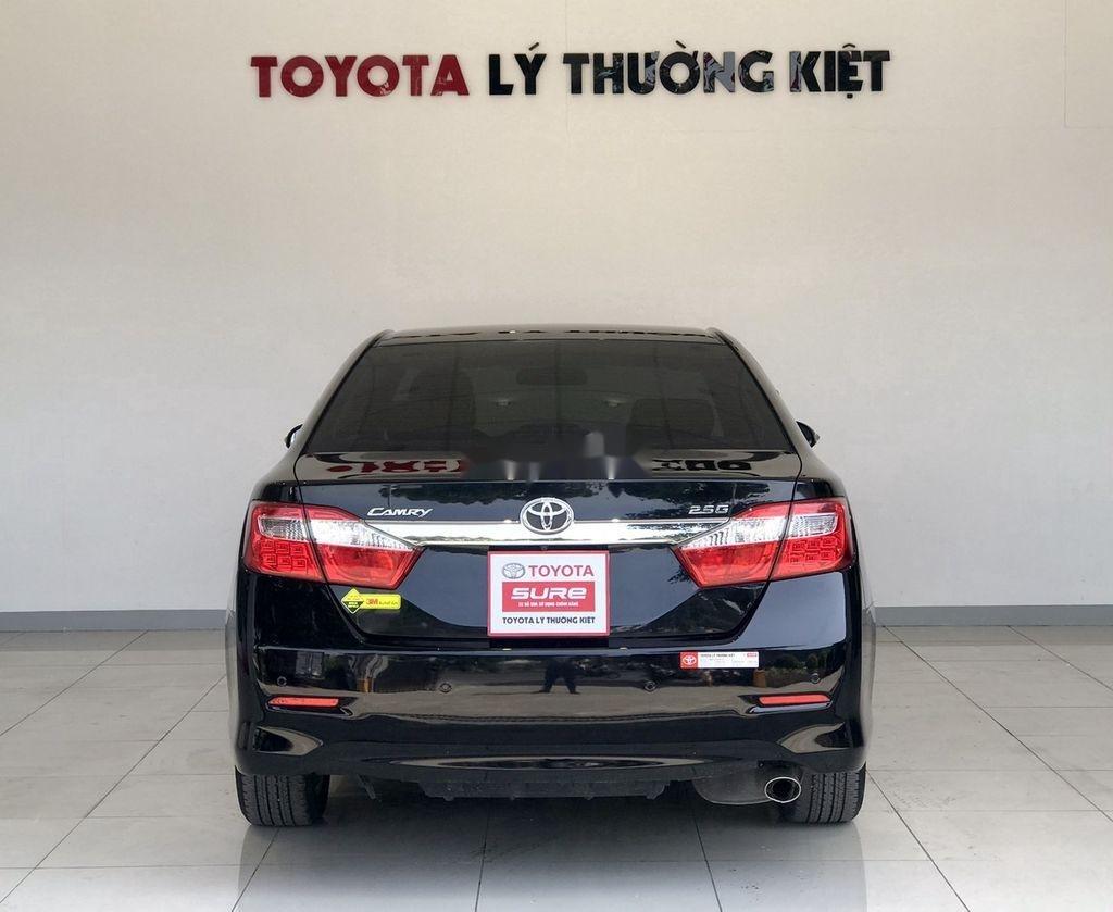 Cần bán Toyota Camry 2.5G 2012, màu đen chính chủ, 690tr (3)