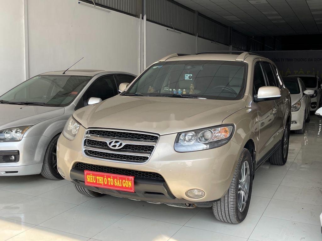 Cần bán Hyundai Santa Fe sản xuất năm 2009 còn mới, 425tr (2)