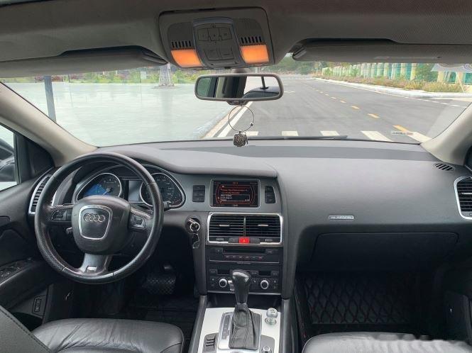 Bán ô tô Audi Q7 2008, màu xám, xe nhập còn mới (8)