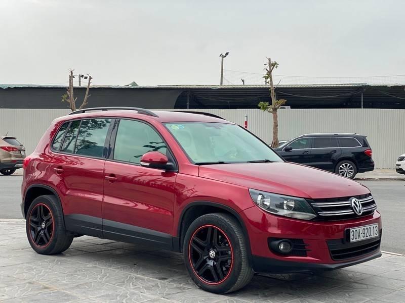 Bán xe Volkswagen Tiguan đời 2011, màu đỏ, nhập khẩu (2)