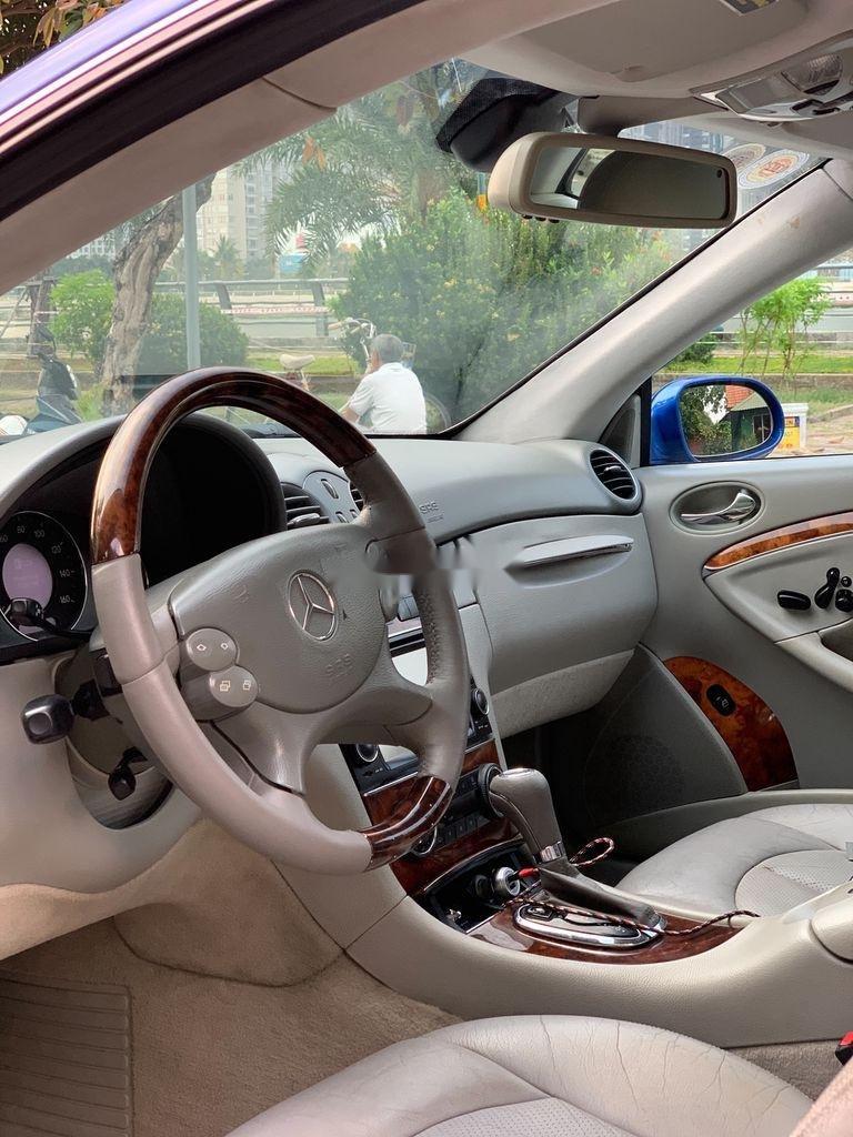 Cần bán Mercedes CLK class năm 2004, hai màu, nhập khẩu nguyên chiếc còn mới (8)
