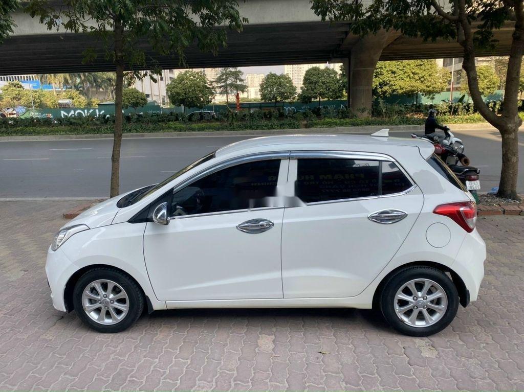 Cần bán gấp Hyundai Grand i10 sản xuất 2017, màu trắng (2)