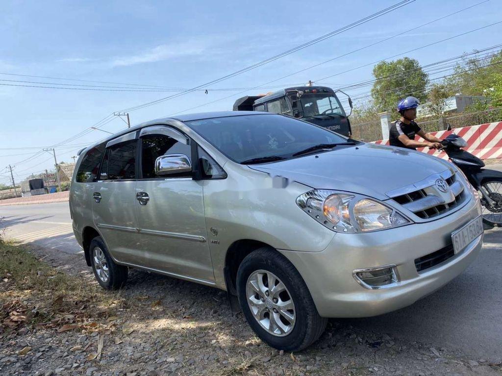 Bán Toyota Innova năm sản xuất 2008, màu bạc  (2)