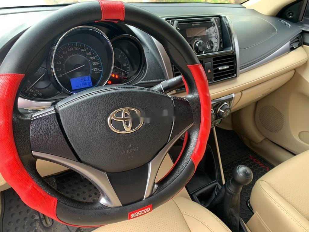 Bán Toyota Vios năm 2014, màu bạc chính chủ, 338tr (10)