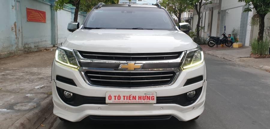 Bán ô tô Chevrolet Trailblazer 2.5 AT năm 2018, màu trắng, nhập khẩu (29)