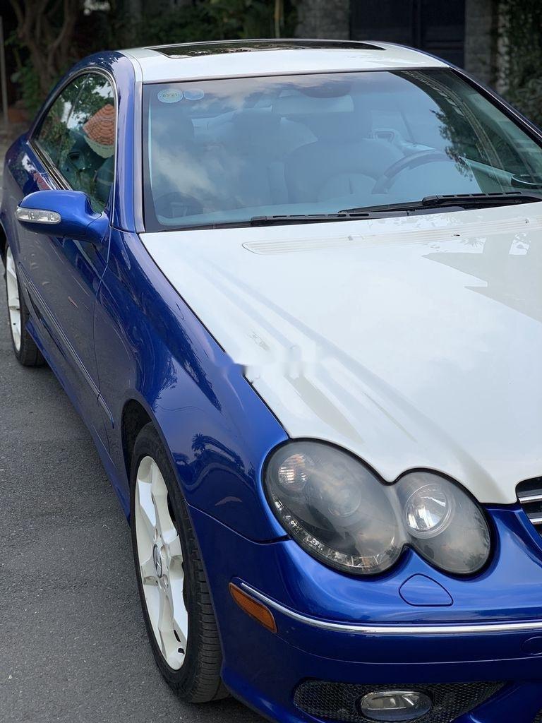 Cần bán Mercedes CLK class năm 2004, hai màu, nhập khẩu nguyên chiếc còn mới (7)