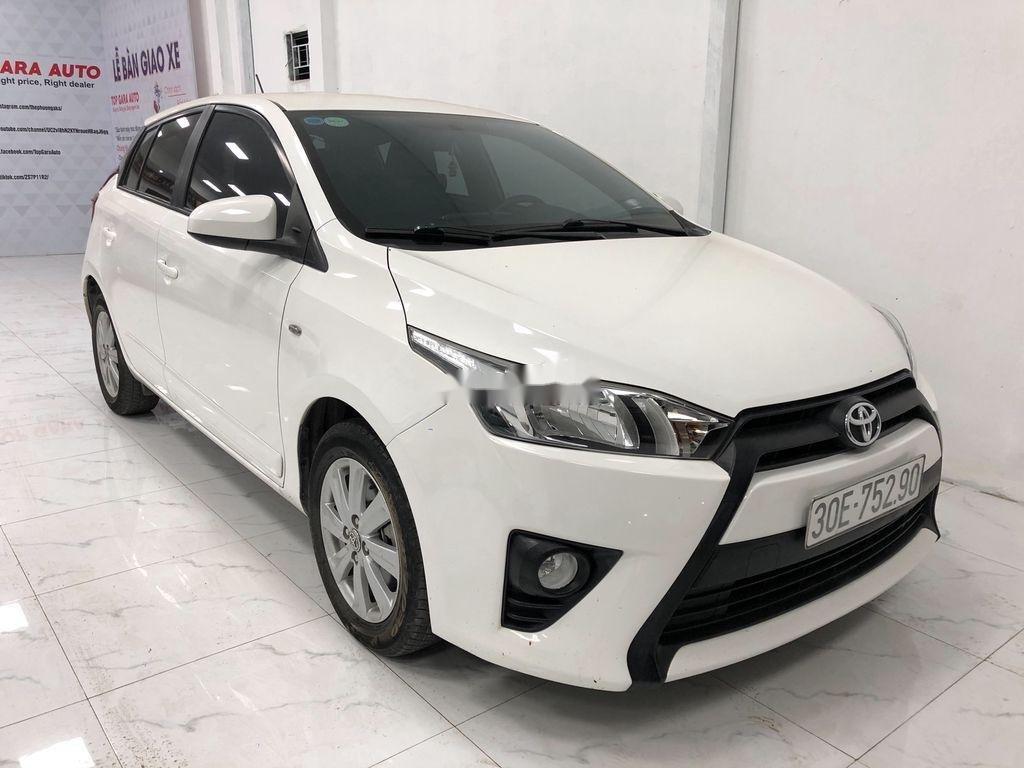Bán Toyota Yaris sản xuất năm 2017, màu trắng, giá chỉ 525 triệu (1)