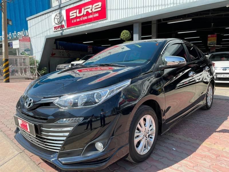 Cần bán gấp Toyota Vios đời 2019, màu đen chính chủ, giá 550tr (1)