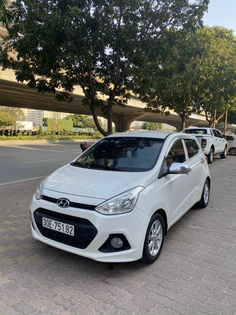 Cần bán gấp Hyundai Grand i10 sản xuất 2017, màu trắng (3)