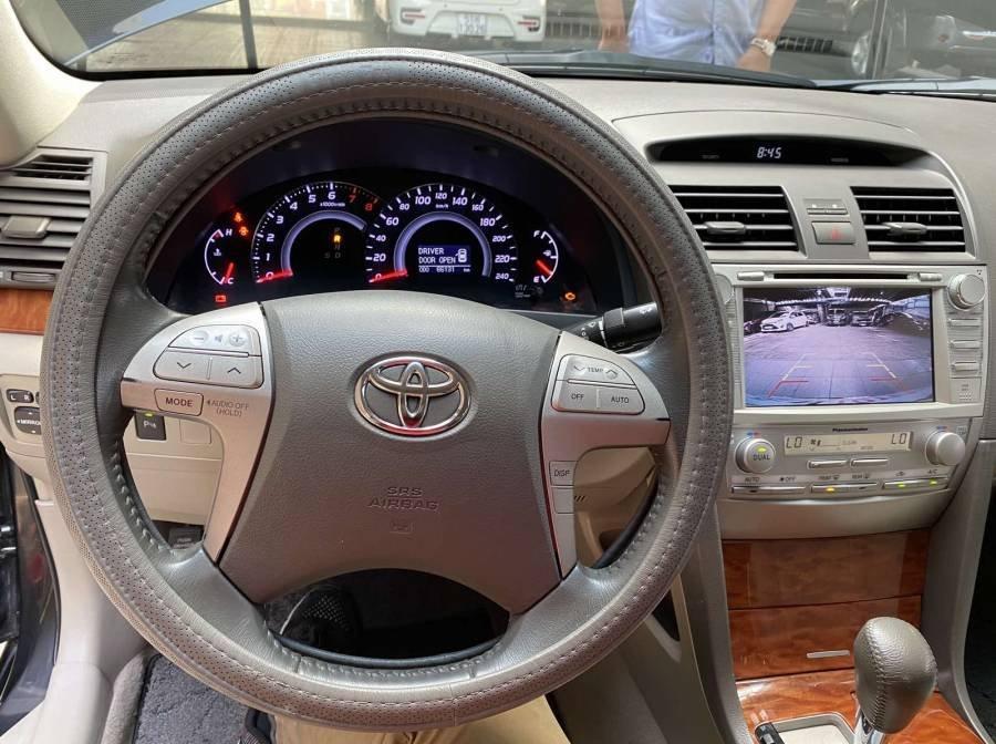 Bán xe Toyota Camry 2.4G năm sản xuất 2011, màu đen chính chủ (2)
