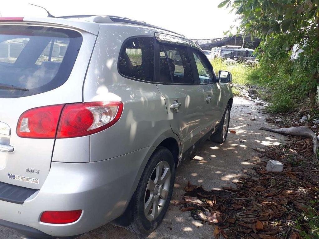 Bán Hyundai Santa Fe đời 2009, màu bạc, nhập khẩu  (2)