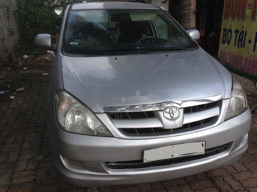 Bán Toyota Innova đời 2007, màu bạc, nhập khẩu  (1)
