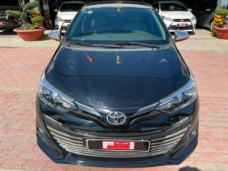 Cần bán gấp Toyota Vios đời 2019, màu đen chính chủ, giá 550tr (3)