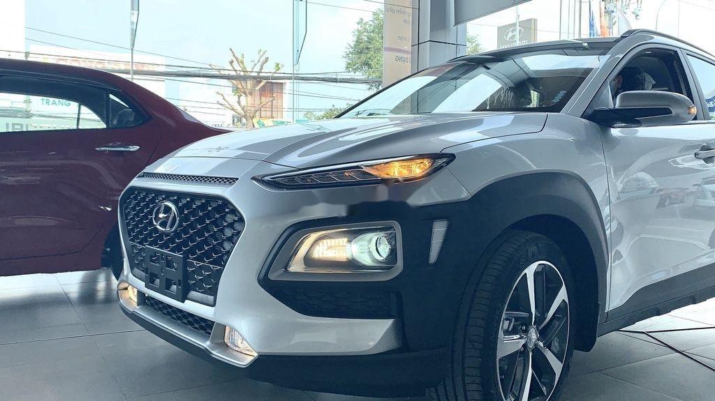 Bán ô tô Hyundai Kona đời 2021, màu bạc (4)