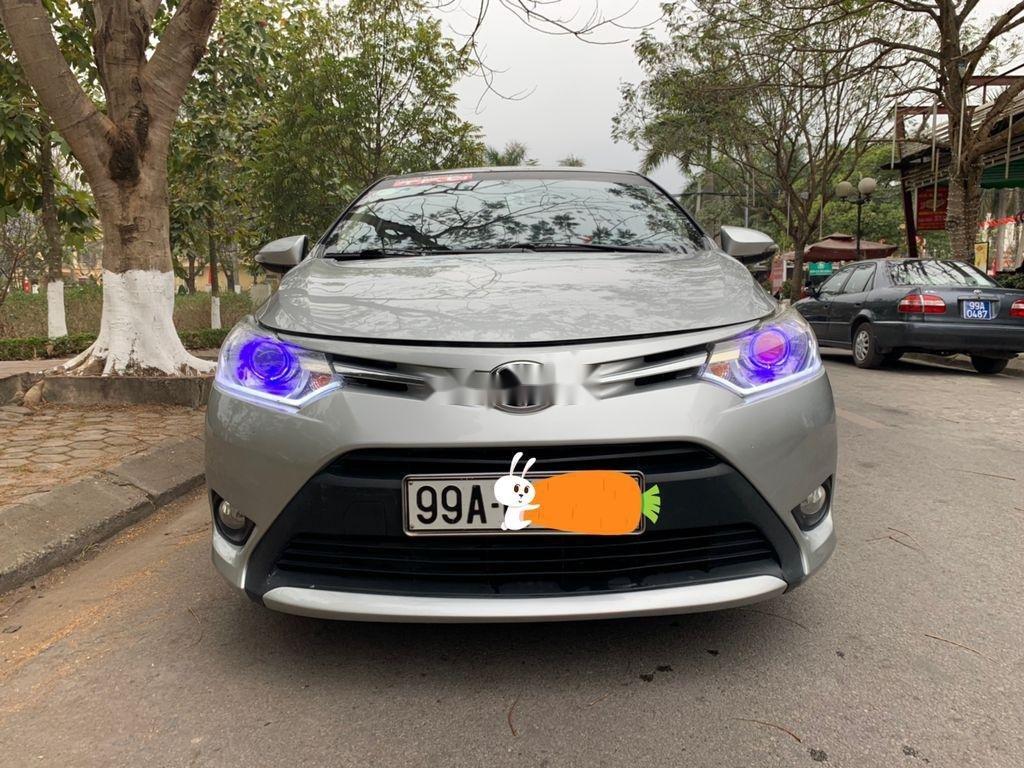 Bán Toyota Vios năm 2014, màu bạc chính chủ, 338tr (1)