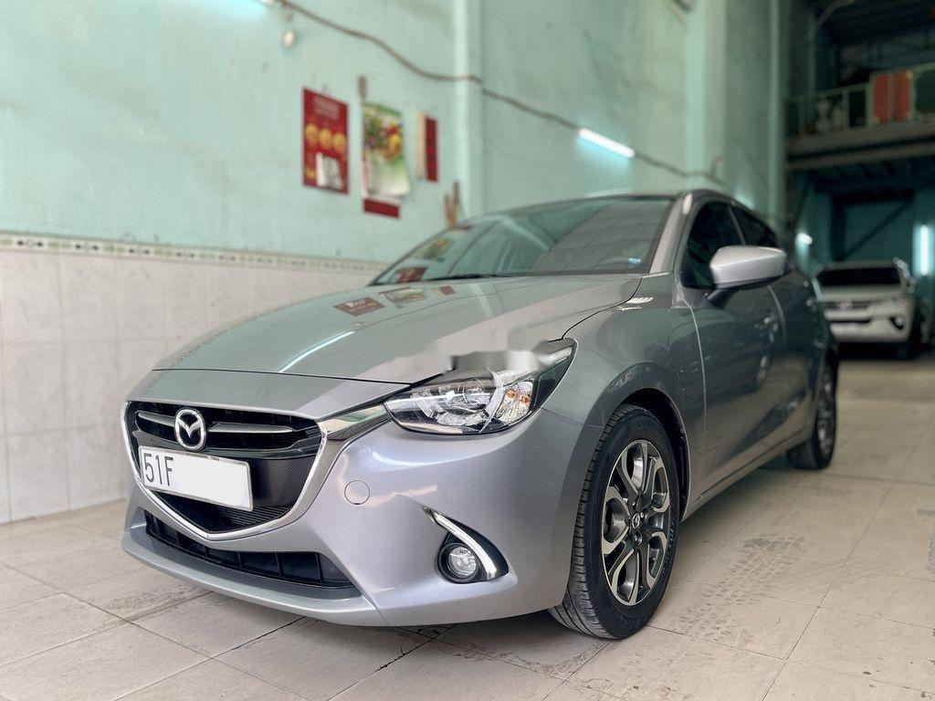 Bán Mazda 2 năm sản xuất 2016, màu xám chính chủ  (3)