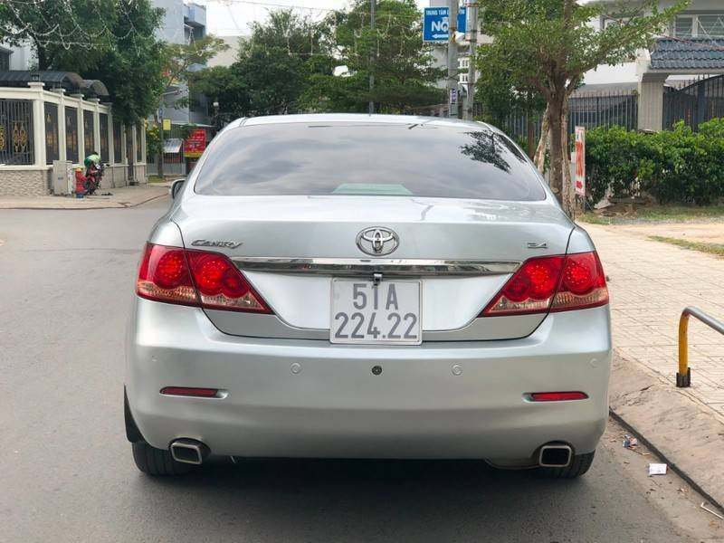 Cần bán Toyota Camry năm sản xuất 2008, màu bạc, nhập khẩu chính chủ, giá 488tr (4)
