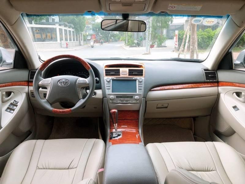 Cần bán Toyota Camry năm sản xuất 2008, màu bạc, nhập khẩu chính chủ, giá 488tr (7)