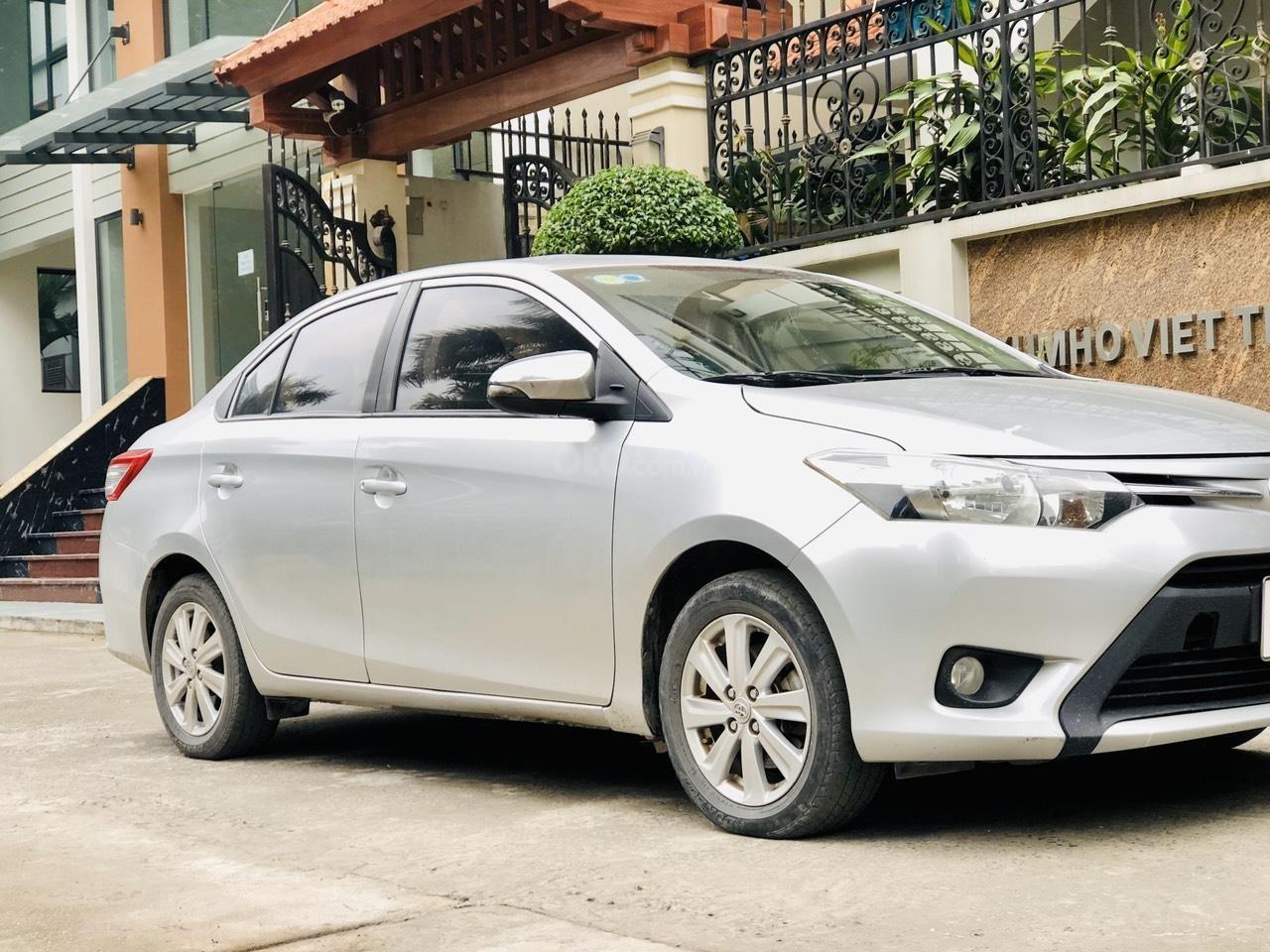 Bán xe Toyota Vios E MT sản xuất 2015, xe đẹp không lỗi nhỏ (2)