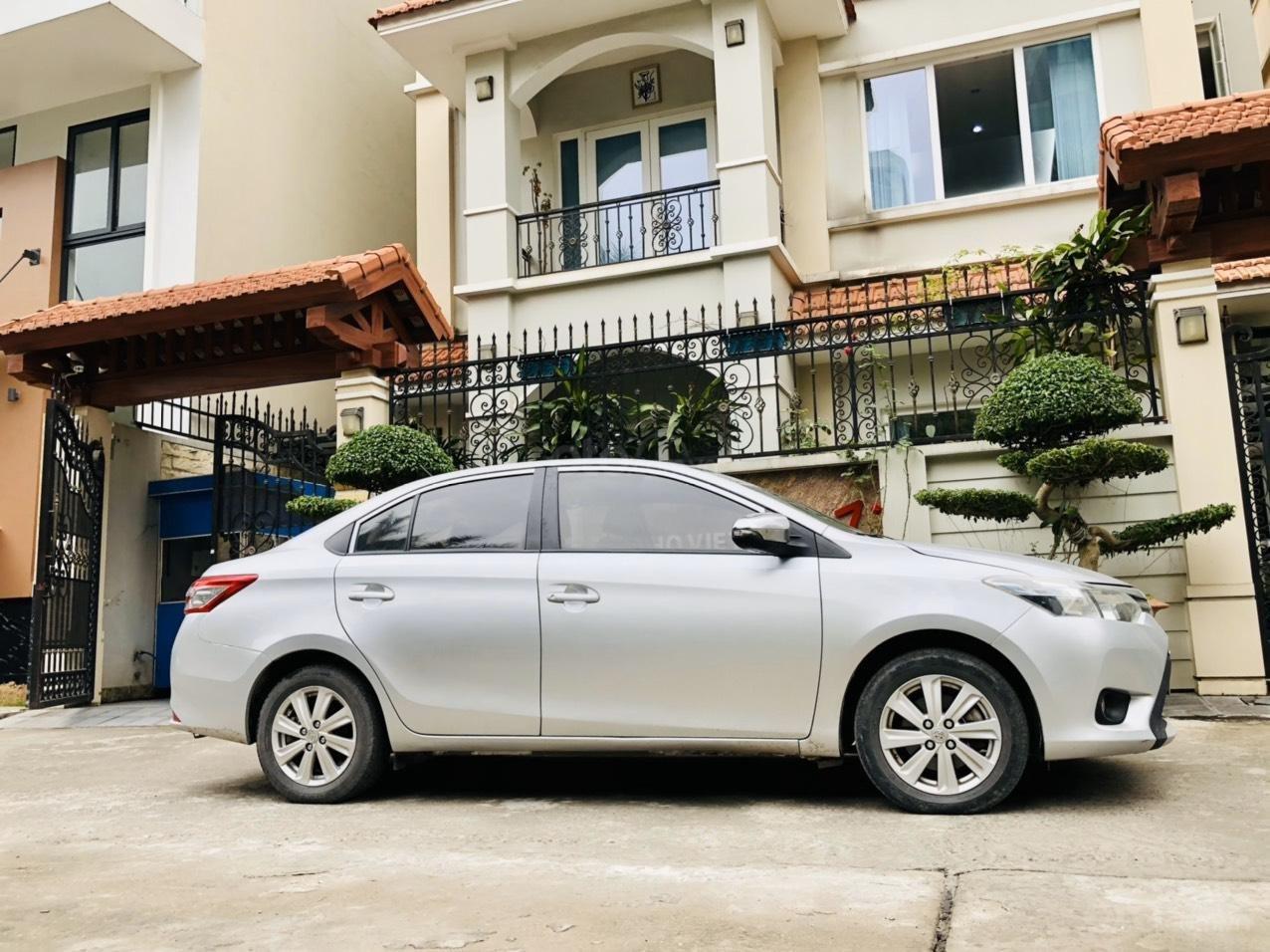 Bán xe Toyota Vios E MT sản xuất 2015, xe đẹp không lỗi nhỏ (3)