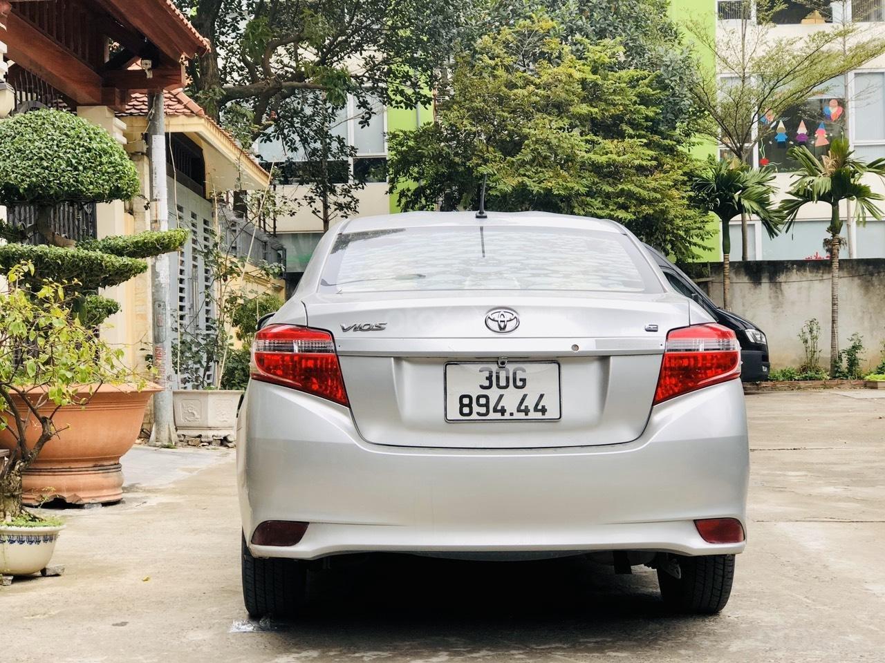 Bán xe Toyota Vios E MT sản xuất 2015, xe đẹp không lỗi nhỏ (5)
