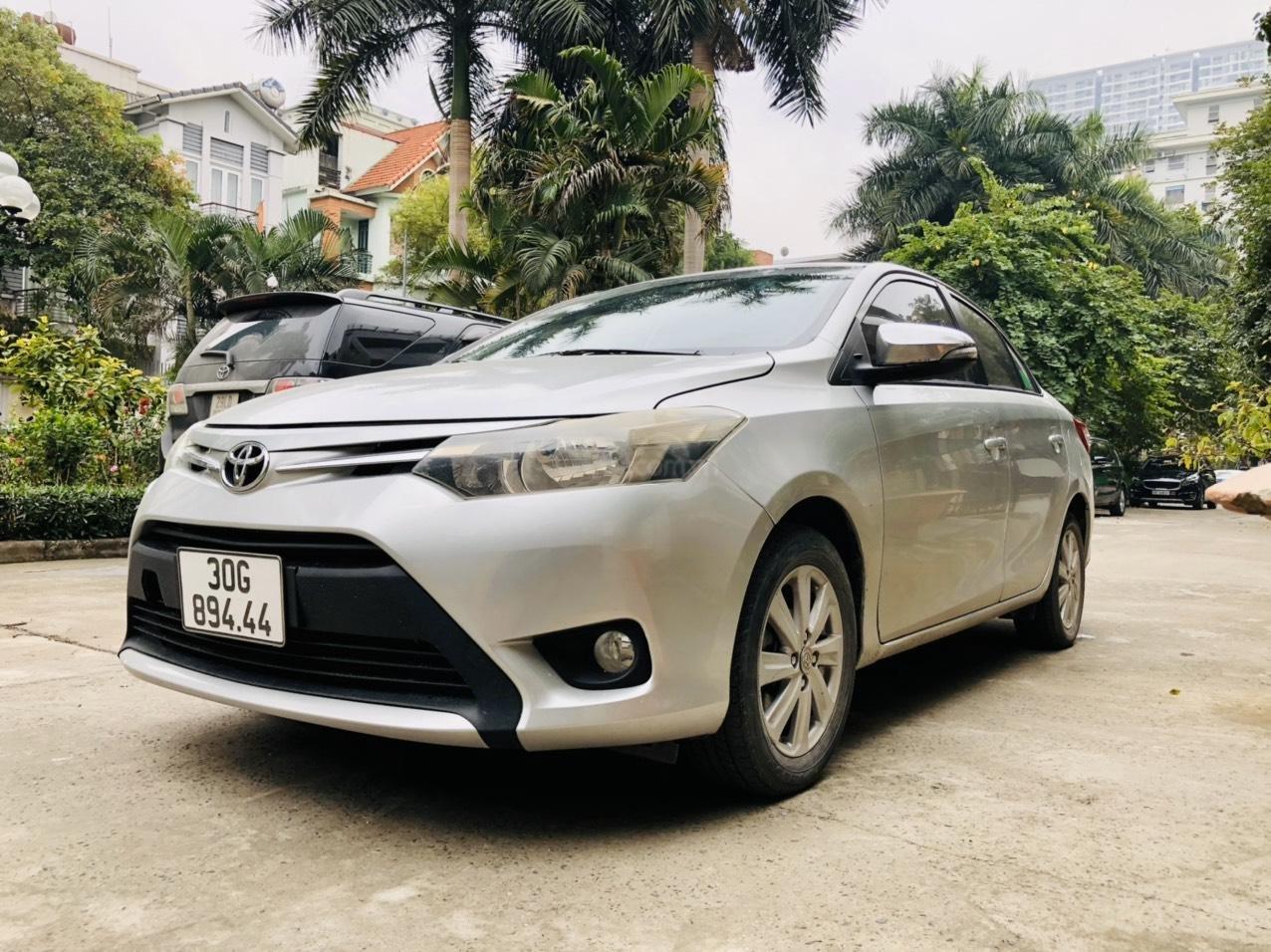 Bán xe Toyota Vios E MT sản xuất 2015, xe đẹp không lỗi nhỏ (7)