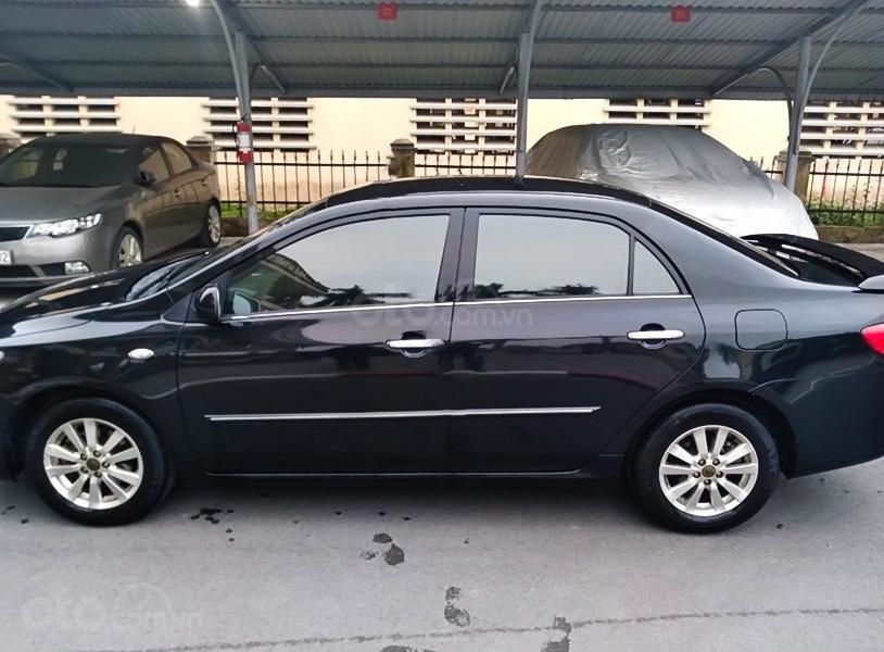 Cần bán xe Toyota Corolla Altis năm 2009, màu đen, nhập khẩu nguyên chiếc (4)