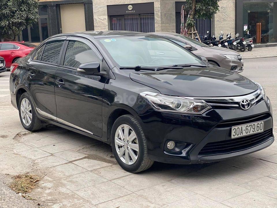 Bán xe Toyota Vios G 1.5AT năm 2015, màu đen số tự động, giá tốt cuối năm (2)