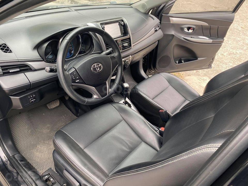 Bán xe Toyota Vios G 1.5AT năm 2015, màu đen số tự động, giá tốt cuối năm (5)
