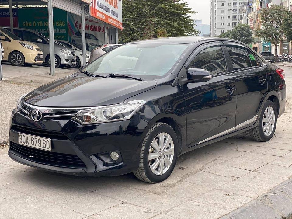 Bán xe Toyota Vios G 1.5AT năm 2015, màu đen số tự động, giá tốt cuối năm (3)