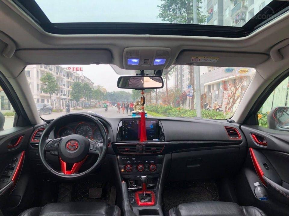 Cần bán gấp Mazda 6 2.0 đời 2015, màu trắng chính chủ (5)