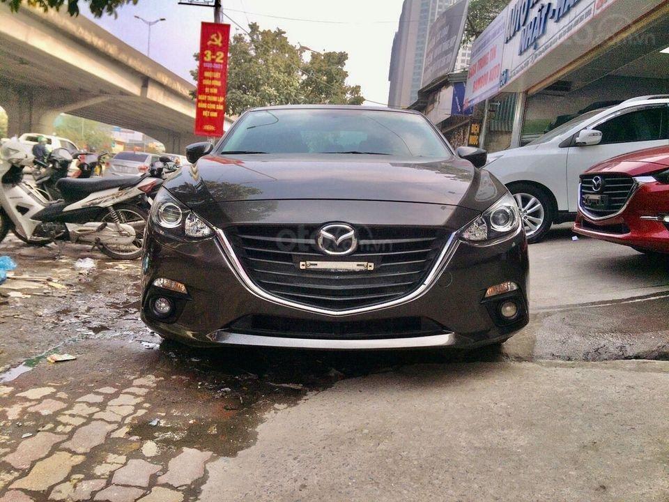 Bán nhanh xe Mazda 3 năm 2016, màu nâu cafe, giá loanh quanh đầu 5 (2)
