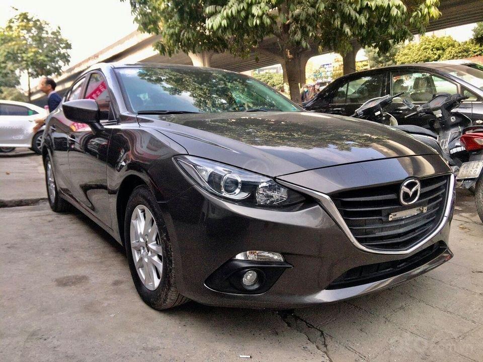 Bán nhanh xe Mazda 3 năm 2016, màu nâu cafe, giá loanh quanh đầu 5 (3)