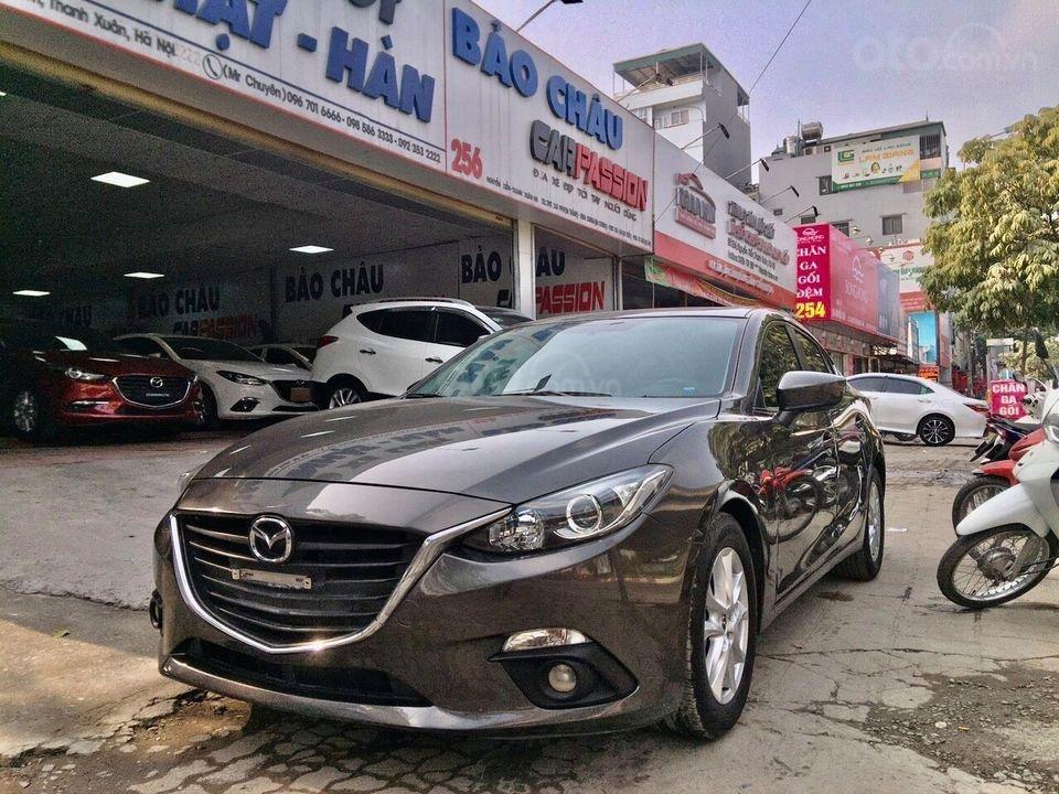 Bán nhanh xe Mazda 3 năm 2016, màu nâu cafe, giá loanh quanh đầu 5 (5)