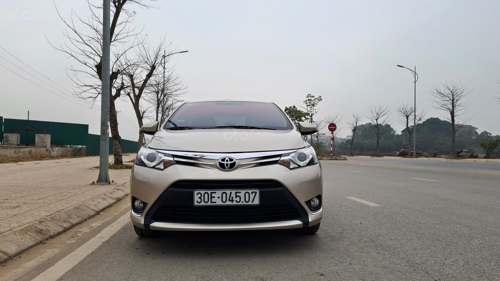 Bán xe giá ưu đãi chiếc Toyota Vios 1.5G đời 2016 (1)