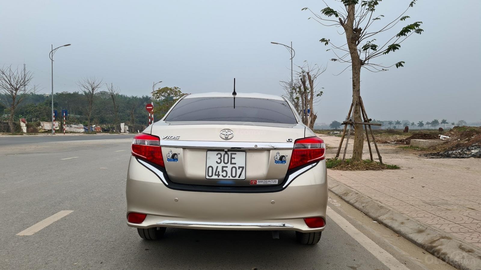 Bán xe giá ưu đãi chiếc Toyota Vios 1.5G đời 2016 (2)