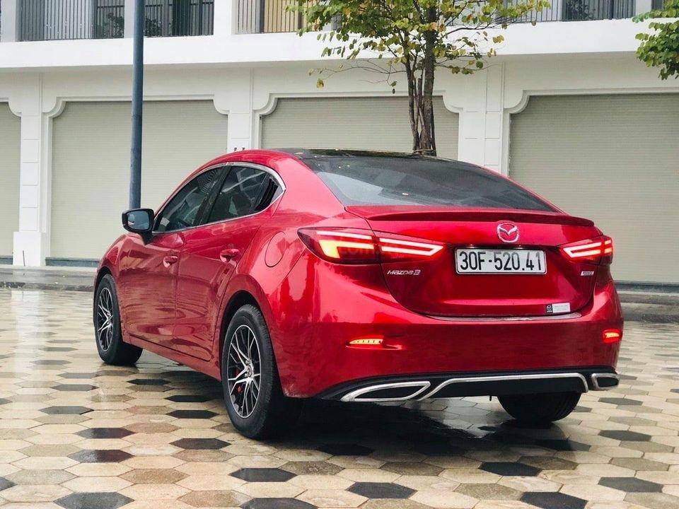 Cần bán lại xe Mazda 3 Facelift 1.5AT đời 2018, màu đỏ như mới, biển Hà Nội (3)