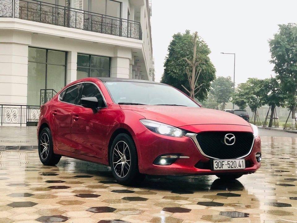 Cần bán lại xe Mazda 3 Facelift 1.5AT đời 2018, màu đỏ như mới, biển Hà Nội (2)