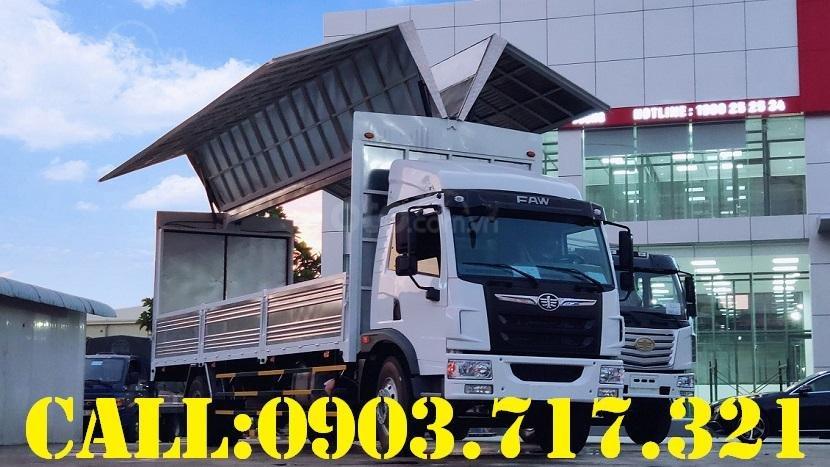 Bán xe tải Faw 8 tấn thùng cánh dơi giao ngay - xe tải 8 tấn thùng cánh dơi giá tốt (1)