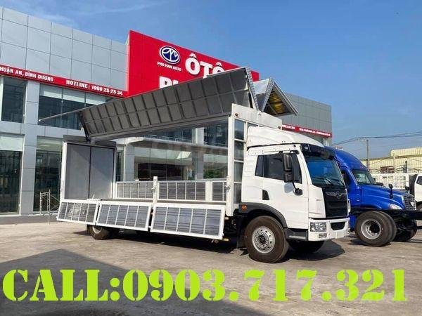Bán xe tải Faw 8 tấn thùng cánh dơi giao ngay - xe tải 8 tấn thùng cánh dơi giá tốt (2)