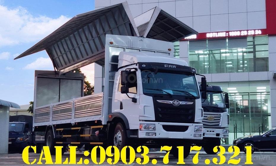 Bán xe tải Faw 8 tấn thùng cánh dơi giao ngay - xe tải 8 tấn thùng cánh dơi giá tốt (3)