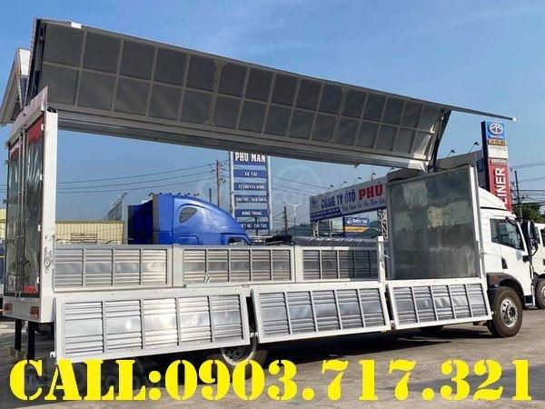Bán xe tải Faw 8 tấn thùng cánh dơi giao ngay - xe tải 8 tấn thùng cánh dơi giá tốt (5)