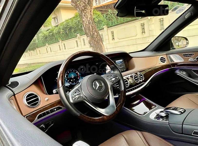 Cần bán xe Mercedes S450L sản xuất năm 2020, màu xanh lam (2)