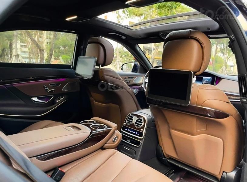 Cần bán xe Mercedes S450L sản xuất năm 2020, màu xanh lam (4)